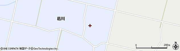 秋田県大仙市豊川(小滝川南)周辺の地図