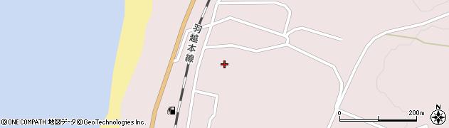 秋田県由利本荘市岩城勝手(赤砂子)周辺の地図