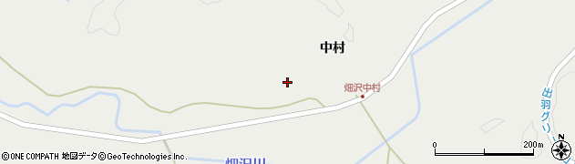 秋田県秋田市雄和種沢(中村)周辺の地図