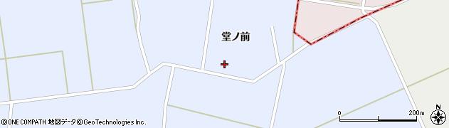秋田県大仙市豊川(堂ノ前)周辺の地図