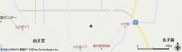 秋田県秋田市雄和種沢(沼田)周辺の地図