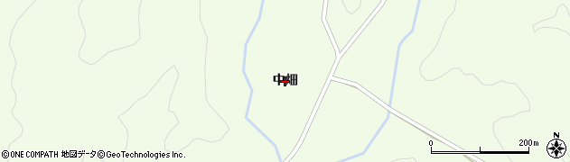 秋田県大仙市土川(中畑)周辺の地図