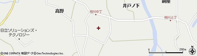 相川寺周辺の地図
