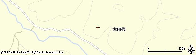 秋田県秋田市下浜名ケ沢(桑ノ木田)周辺の地図