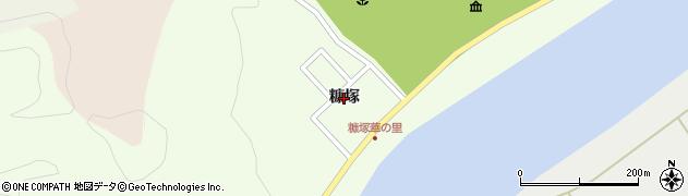 秋田県秋田市雄和妙法(糠塚)周辺の地図