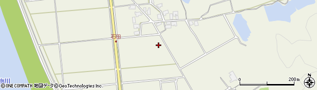 秋田県秋田市雄和石田(前田)周辺の地図