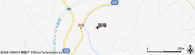 秋田県秋田市雄和平尾鳥(簗場)周辺の地図