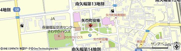 岩手県紫波郡矢巾町周辺の地図