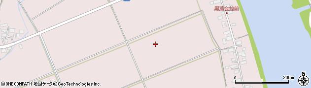 秋田県秋田市雄和下黒瀬周辺の地図