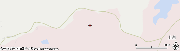 秋田県秋田市下浜八田(前谷地)周辺の地図