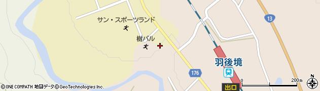 秋田県大仙市協和船岡(大袋)周辺の地図