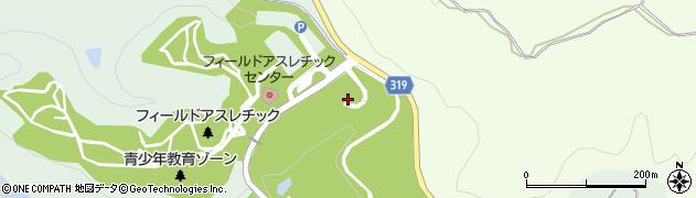 秋田県秋田市雄和椿川(軽井沢)周辺の地図