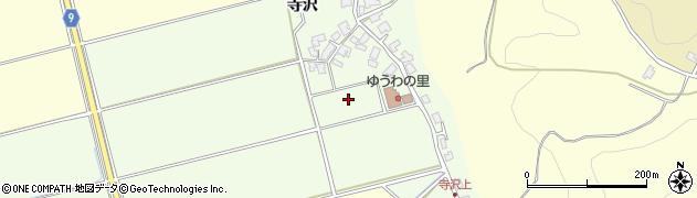 秋田県秋田市雄和芝野新田周辺の地図