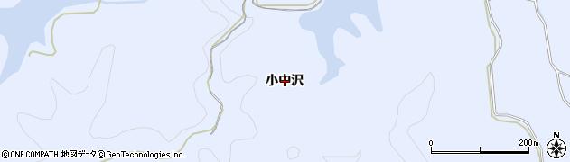 秋田県秋田市豊岩豊巻(小中沢)周辺の地図
