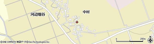 秋田県秋田市河辺畑谷(中村)周辺の地図