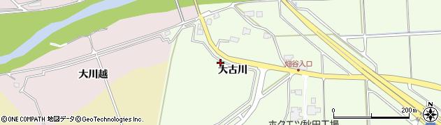 秋田県秋田市河辺戸島(大古川)周辺の地図
