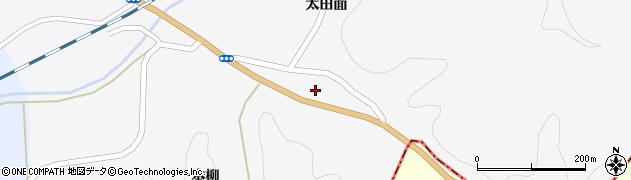 秋田県秋田市河辺神内(船沢境)周辺の地図