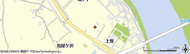 秋田県秋田市豊岩石田坂周辺の地図