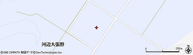 秋田県秋田市河辺大張野(道ノ下)周辺の地図