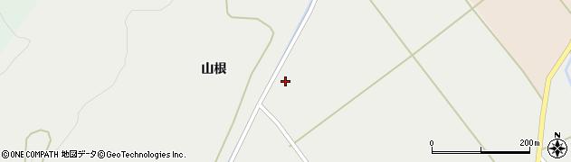 秋田県秋田市河辺諸井(後野中島)周辺の地図