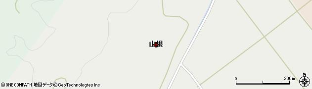 秋田県秋田市河辺諸井(山根)周辺の地図