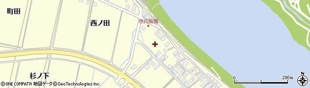 秋田県秋田市豊岩石田坂(碇)周辺の地図