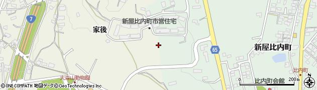 秋田県秋田市浜田周辺の地図