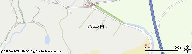 秋田県秋田市上北手猿田(ハテノ内)周辺の地図