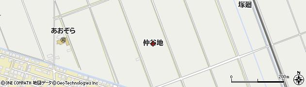 秋田県秋田市仁井田(仲谷地)周辺の地図