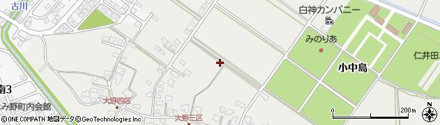 秋田県秋田市仁井田周辺の地図