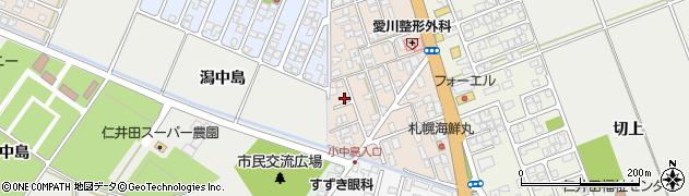 秋田県秋田市仁井田蕗見町周辺の地図