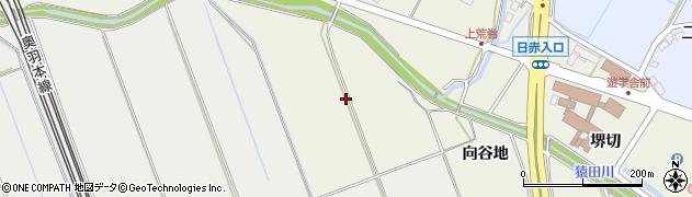 秋田県秋田市上北手荒巻(向谷地)周辺の地図