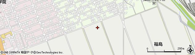 秋田県秋田市仁井田(侑渮溜)周辺の地図
