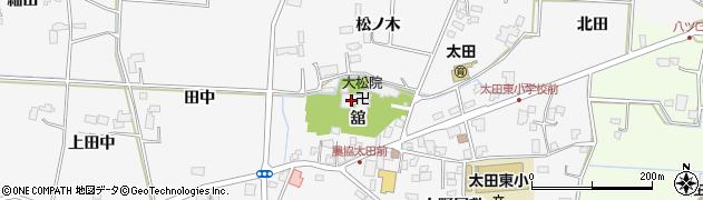 大松院周辺の地図