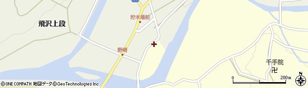 秋田県秋田市河辺岩見(野崎)周辺の地図