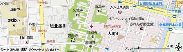 普傅寺周辺の地図