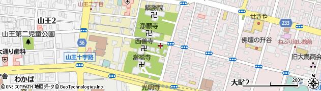 順應寺周辺の地図