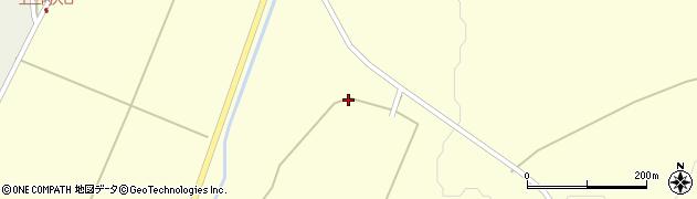 秋田県秋田市河辺岩見(萱森上野)周辺の地図