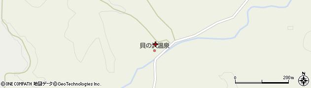 秋田県秋田市太平山谷(長坂)周辺の地図