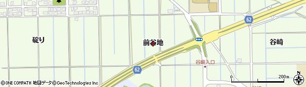 秋田県秋田市下北手松崎(前谷地)周辺の地図