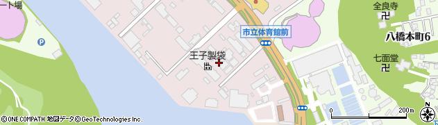 秋田県秋田市八橋(下八橋)周辺の地図