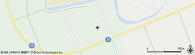 秋田県秋田市太平目長崎(待合)周辺の地図