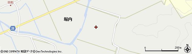 秋田県秋田市太平中関(坊主淵)周辺の地図