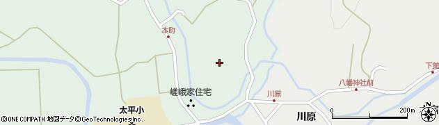 秋田県秋田市太平目長崎(舞鶴館)周辺の地図