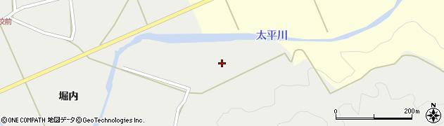 秋田県秋田市太平中関(逆水)周辺の地図