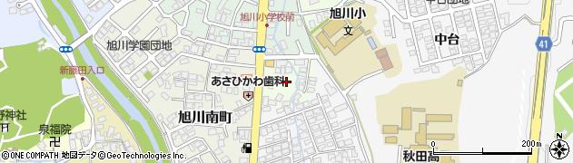 秋田県秋田市新藤田(大所)周辺の地図