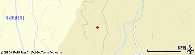 秋田県秋田市太平黒沢(平速沢)周辺の地図