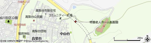 秋田県秋田市新藤田周辺の地図