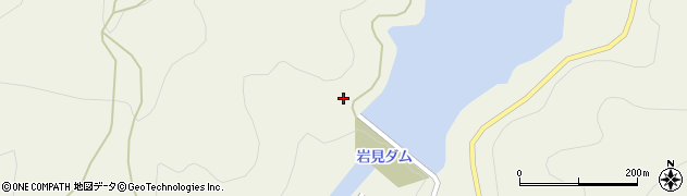 秋田県秋田市河辺三内(財ノ神)周辺の地図
