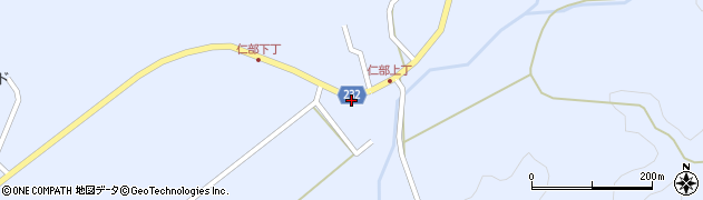 秋田県秋田市太平八田(田屋ノ前)周辺の地図